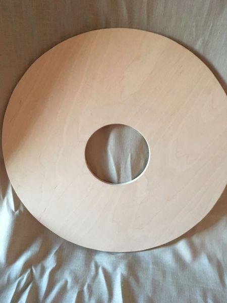 Multiplex 9 mm mit 14 cm Ausschnitt