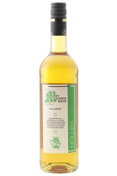 Holler Met Honigwein mit Holunderblüte, 10% vol. ,0,75 Liter