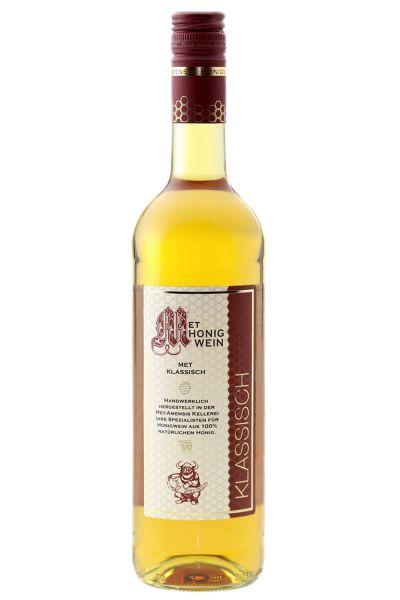 Honigwein, Met klassisch lieblich in der Glasflasche