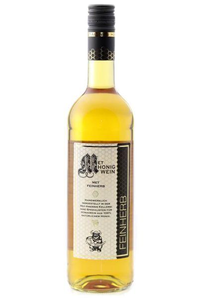 Met Honigwein, feinherb ,halbtrocken 0,75 Liter,12,5%Vol