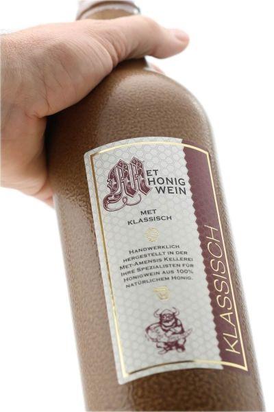 Met Honigwein,Lieblich in Ton Flasche 0,7 Liter
