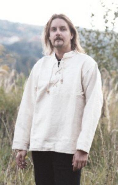 Handgewebtes Baumwollhemd