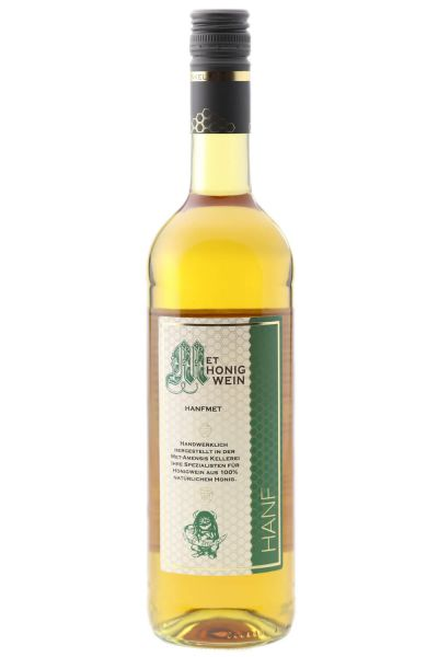 Hanfmet, Honigwein,10% vol. 0,75 Liter